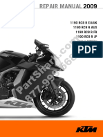 KTM RC8 Repair Manual