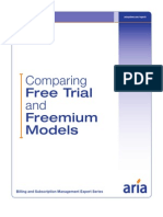 Comparing Free Trial and Freemium Models