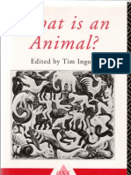 Tim Ingold, What is an Animal