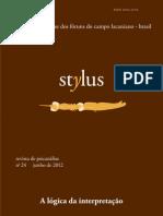 Revista Stylus n 24