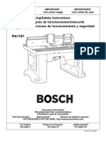 Bosch Routertable