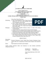 Petunjuk Pelaksanaan LT I 2012