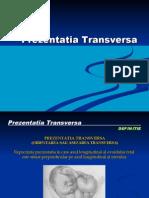 Prezentatia transversa
