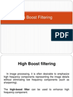High Boost Filtering