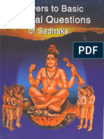Answers to Basic Spiritual Questions of Sadhaks