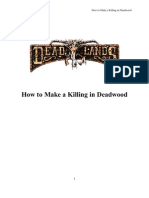 Deadlands - How to Make a Killing in Deadwood