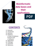 Bioinformatics Database and Applications