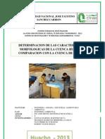 Informe de La Cuenca Del Rio Huaura Modificado