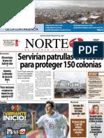 Periodico Norte de Ciudad Juárez 5 de Enero de 2013