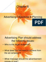 Advertising Objectives & Planning.