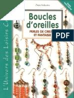Boucles d'Oreilles Perles de Cristal Et Fantaisie - Ines Valentin