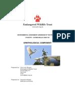 003 App a Ornithological Addendum