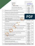 IEEE dotnet titles 2012