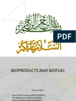 Bioproduct and biofuel
