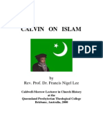 Calvin on Islam