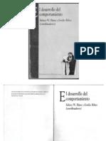El Desarrollo Del Comportamiento - Bijou & Ribes