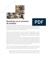 Beneficio del consumo de semillas