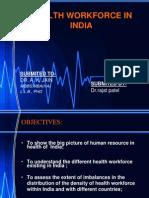 Health workforce in India