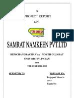 Samrat Namkeen Pvt.Ltd