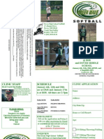 Softball Skills Form