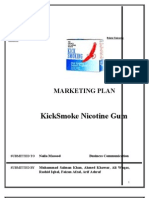 Advertising and Promotion Report Marketing Plan Kick Smoke Gum