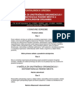 4. Pokrajinska Uredba o Nacelima Za Unutrasnju Organizaciju i Sistematizaciju Radnih Mesta u Pokrajinskim Organima