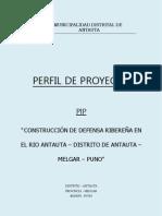 DEFENSA RIBEREÑA RIO ANTAUTA