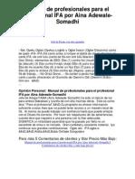 manual de ifa