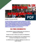 Noticias Uruguayas sábado 5 de enero del 2013