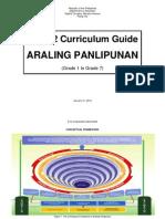 K to 12 Curriculum Guide for Araling Panlipunan