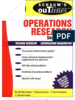 Schaum's Outline - Operations Research