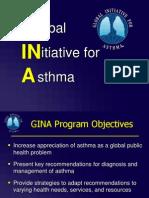 GINA - Global initiative for Asthma