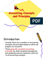 Accounting concept & principle