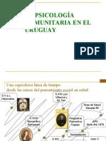 La Psicología Comunitaria en el Uruguay