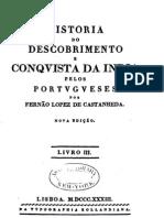 História do Descobrimento e da Conquista da India pelos Portugueses - Fernão Lopez de Castanheda