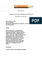 Euclides Da Cunha - Ondas e Outros Poemas Esparsos