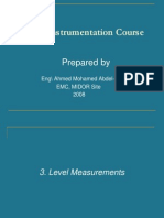 Instrumentation Basics -03- Level Measurement