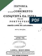 História do Descobrimento e Conquista da India pelos Portugueses - Fernão Lopez de Castanheda