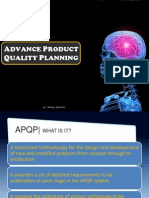 Advance Product Quality Planning