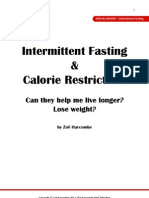 Intermittent Fasting & Calorie Restriction