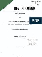 História do Congo, de Visconde de Paiva Manso