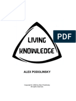 Alex Podolinsky-Living Knowledge