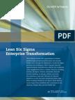Lean Six Sigma Enterprise Transformation