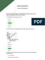 Resolução do Exame Exemplo de Bioquímica I (2013)