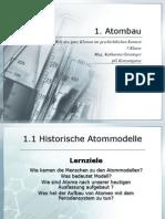 Atomaufbau Im Geschichtlichen Kontext 7.KLasse 2012-2013