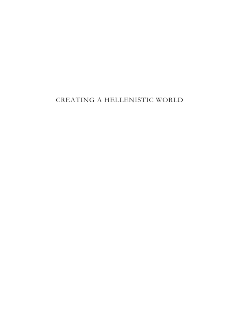 Creating a hellenistic world pdfpdf hellenistic period creating a hellenistic world pdfpdf hellenistic period alexander the great fandeluxe Image collections