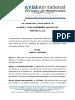 AYNLA International Code of Elections