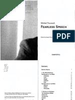 Foucault Michel Fearless Speech