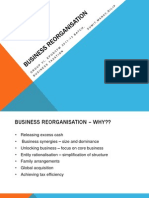 Business Reorganisation