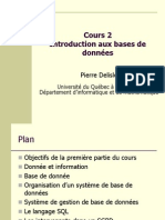 Cours 2 Intro